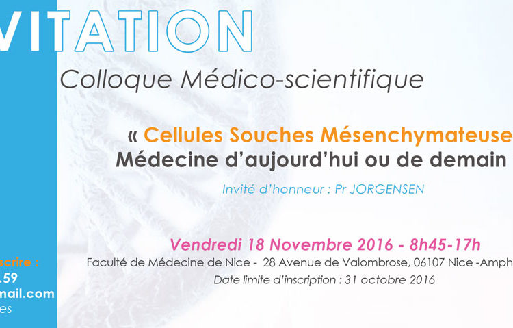 Colloque médecine Nice INSA