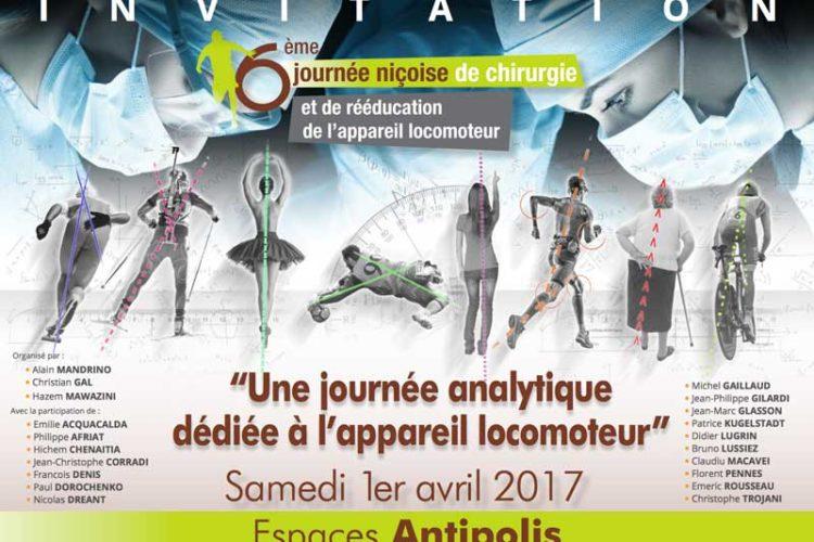 Appareil Locomoteur - Annonce 6eme journée 2017